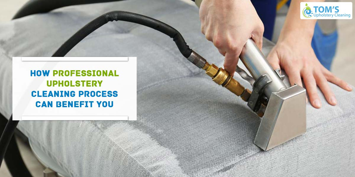 How Professional Upholstery Cleaning Process Can Benefit You