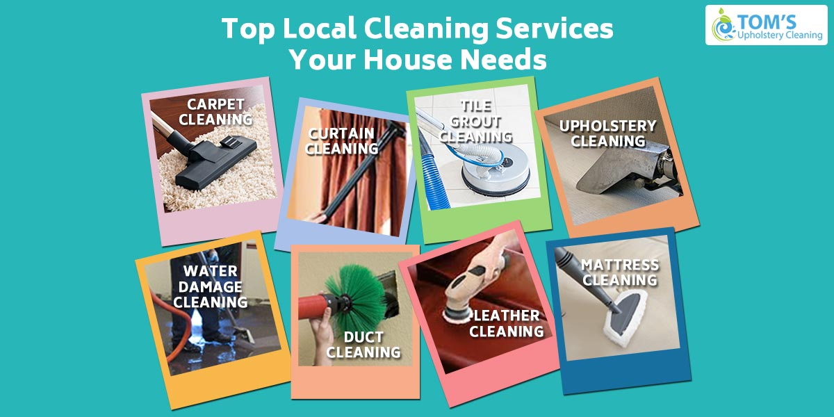 Top Local Cleaning Services Your House Needs