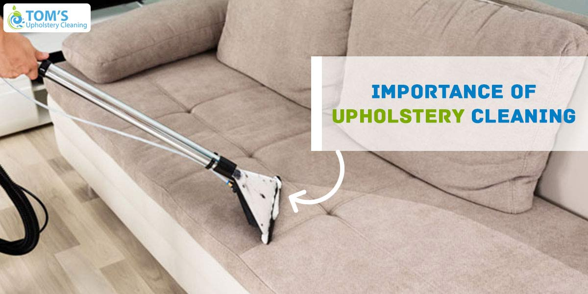 Importance Of Upholstery Cleaning
