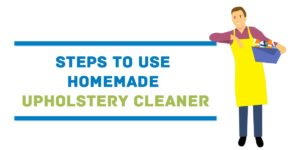 homemade upholstery cleaner