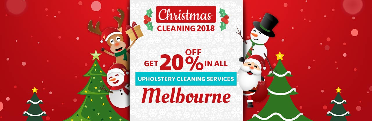 Christmas Upholstery Cleaning Melbourne