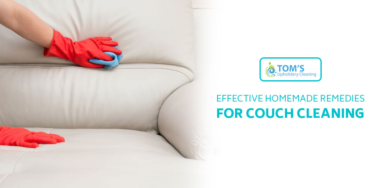 Effective Homemade Remedies for Couch Cleaning