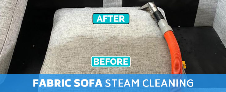 Fabric Sofa Steam Cleaning