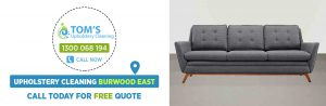 Upholstery Cleaning Burwood East