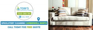 Upholstery Cleaning Camberwell North