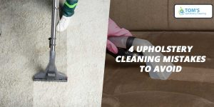 Upholstery Cleaning Mistakes