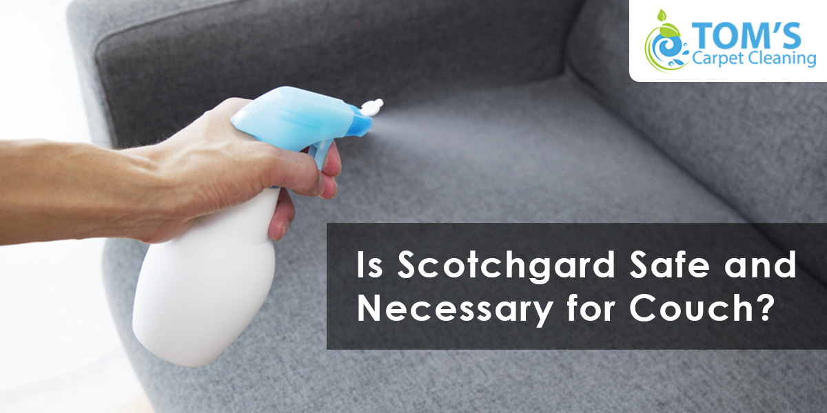 Is Scotchgard Safe and Necessary for Couch