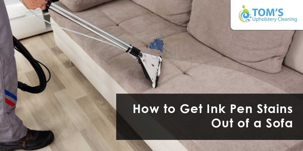 How to Get Ink Pen Stains Out of a Sofa